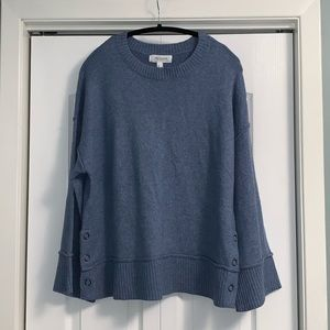 Additionelle Blue knit Sweater size X long sleeve